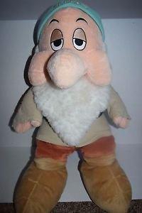 "Disney Store SLEEPY 25"" Large PLUSH from Snow White & Seven Dwarfs"