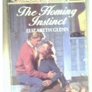 THE HOMING INSTINCT - ELIZABETH GLENN - 1986