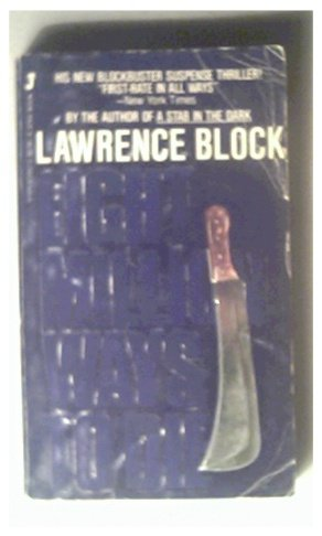 EIGHT MILLION WAYS TO DIE - LAWRENCE BLOCK - 1982