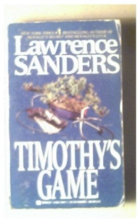"""TIMOTHY""""S GAME - LAWRENCE SANDERS -1989"""