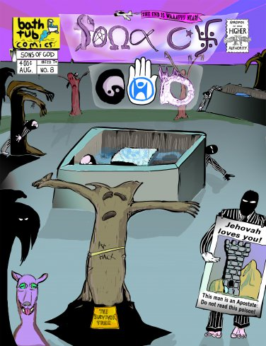 sons of god, issue 8