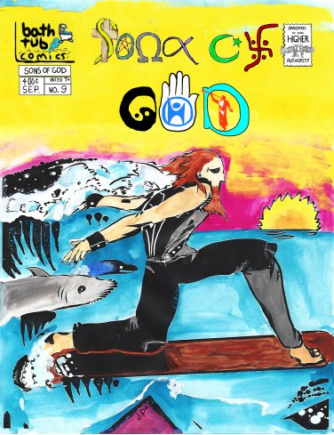 Sons of God, Issue 9 standard cover