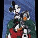 Mickey Mouse Goofy Dog Daffy Duck Disney Gamble Cartoon Fancy Novelty Neck Tie