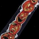 Halloween Pumpkin Emotional Face Fancy Novelty Neck Tie