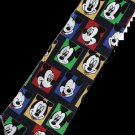 Many Mickey Mouse Disney Emotional Face Cartoon Fancy Novelty Neck Tie