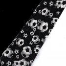 Soccer Balls Football Game Sport Fancy Novelty Neck Tie