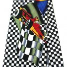 Formula 1 F1 Car Racing Transport Fancy Novelty Neck Tie