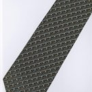201205 Black White Grey Stripe Neck Tie
