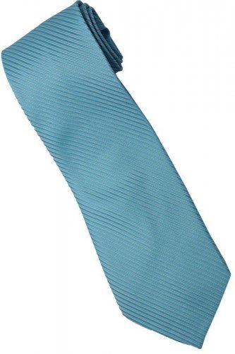 BU2 Sky Blue Solid Neck Tie