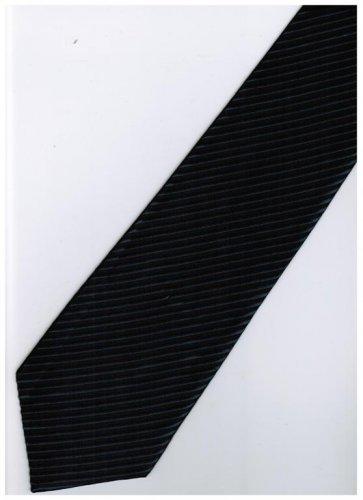 BU8 Blue Solid Neck Tie