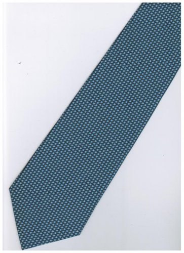 BU11 Blue Solid Neck Tie