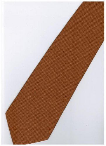 GO11 Gold Solid Neck Tie