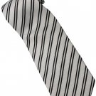 EB16 Black White Stripe Neck Tie