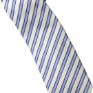 EBW1 Sky Blue White Purple Stripe Neck Tie