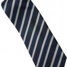 EDB1 Blue White Stripe Neck Tie