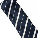 EDB2 Blue White Stripe Neck Tie