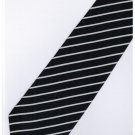 EDB4 Blue White Stripe Neck Tie
