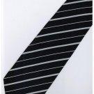 EDB5 Blue White Stripe Neck Tie