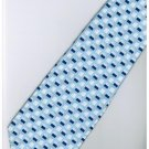 ELB1 Blue White Stripe Neck Tie