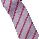 EPP02 Purple Pink Black Stripe Neck Tie