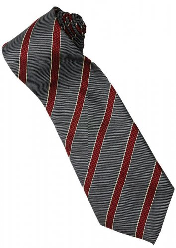 ER3 Red Black Yellow Stripe Neck Tie