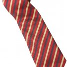 ER7 Red Black Yellow Stripe Neck Tie