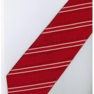ER14 Red White Stripe Neck Tie