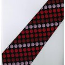 ER20 Red Pink Black Box Stripe Neck Tie