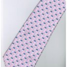 EPK06 Pink White Blue Stripe Neck Tie