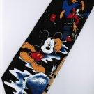 Mickey Mouse Goofy Disney Repair Tap Water BLACK Cartoon Fancy Novelty Neck Tie