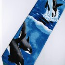Fish Dolphin Marine Life Coral Fancy Novelty Neck Tie 3