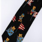 Little Bear Cartoon Fancy Novelty Neck Tie