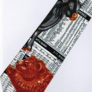 Stock Market Index Share Bear Cow Occupation Fancy Novelty Neck Tie