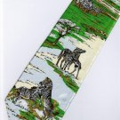 Zebra Mammal Animal Fancy Novelty Neck Tie
