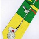 Golf Sport Fancy Novelty Neck Tie