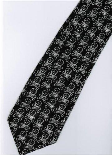 Halloween Radiation Symbol Skull Many Fancy Novelty Neck Tie