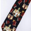 Jesus Christ Christian Holy Bible Religious Fancy Neck Tie
