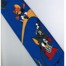 Tom and Jerry Golf BLUE Cartoon Neck Tie