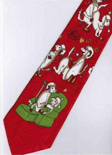 Valentine Day Love 2 Fancy Novelty Necktie