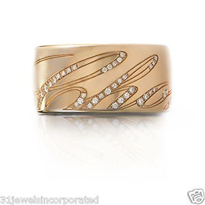 Brand New Chopard Chopardissimo Ring in 18k Rose Gold 826580-5210, Size 7