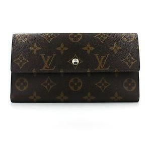 Louis Vuitton Monogram Porte Tresor International Wallet with Dust Bag