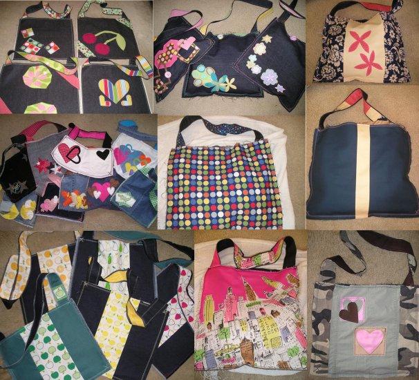 Strawberry & Chocolate tote book purse bag