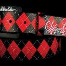 Red Arglyle belt