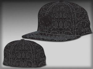 Bandana black hat