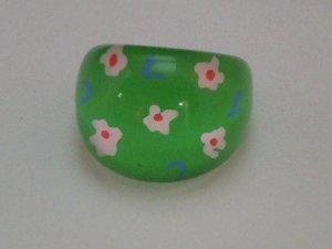 KCRIN 00004  Plastic Ring Green