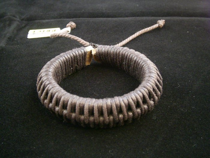 KCBRC 00012 Leather String Dark Brown