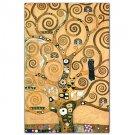Frieze II by Gustav Klimt Famous Art Print