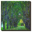 Tree-Lined Road Leading to the Manor House at Kammer, Upper Austria, 1912 by Claude Monet Famous S