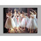 Ballerina on The Edge of Nerves 100% Hand Painted Contemporary Oil Paintings Modern Artwork Wall A