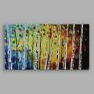 IARTS Blue Woods Wall Decor Painting Acrylic Nice Home Art Work 120x60cm Ready to Hang